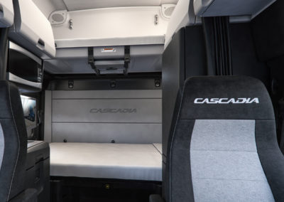 New Cascadia Driver Seat
